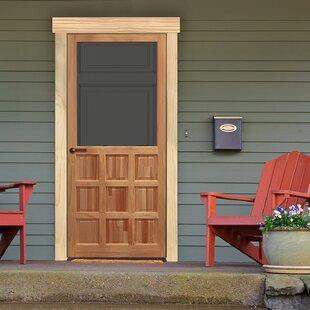 9 Panel Wood Screen Door