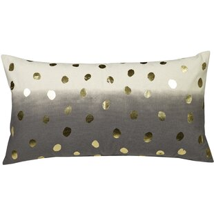Clairsville Foil Dots Throw Pillow