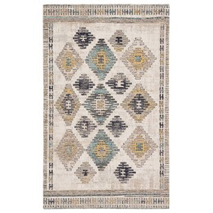 Vanburen Tribal Blue/Beige Indoor/Outdoor Area Rug
