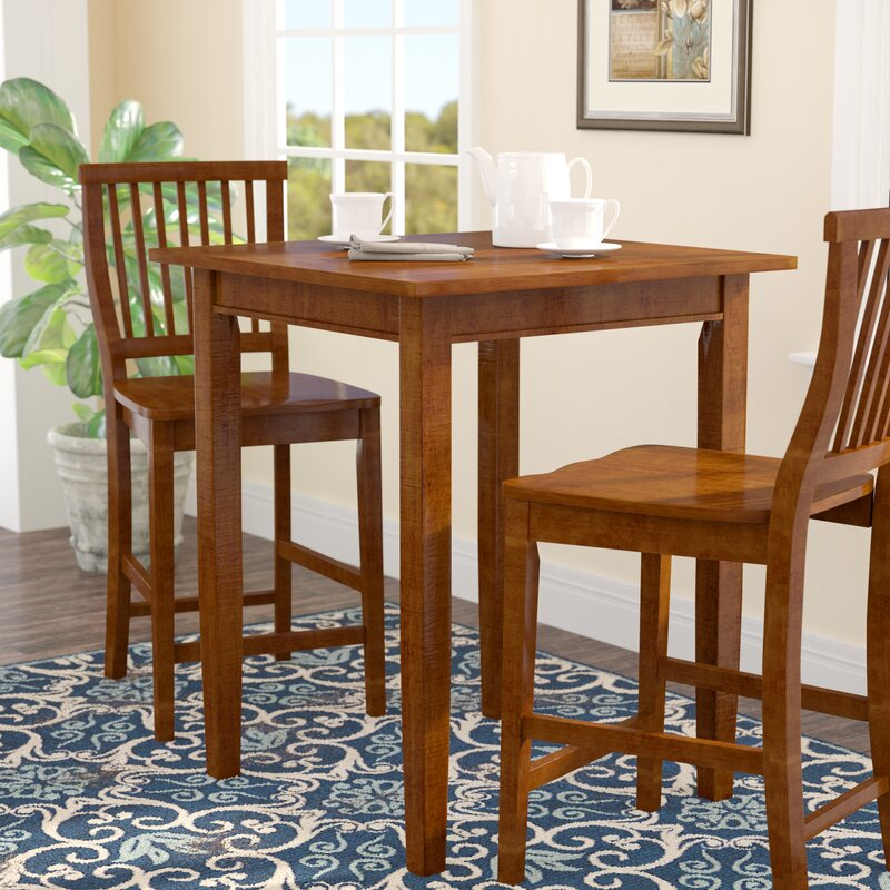 Three Posts Ferryhill Counter Height Pub Table & Reviews | Wayfair
