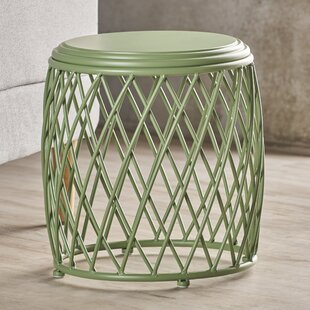 Compare prices Ranallo Indoor Iron End Table By Wrought Studio