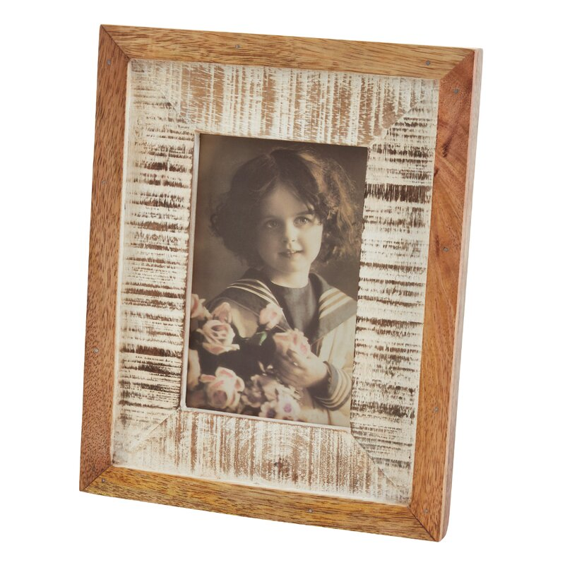 Millwood Pines Sena Distressed Picture Frame Wayfair