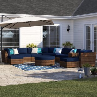 Waterbury 11 Piece Sectional Seating Group with Cushions