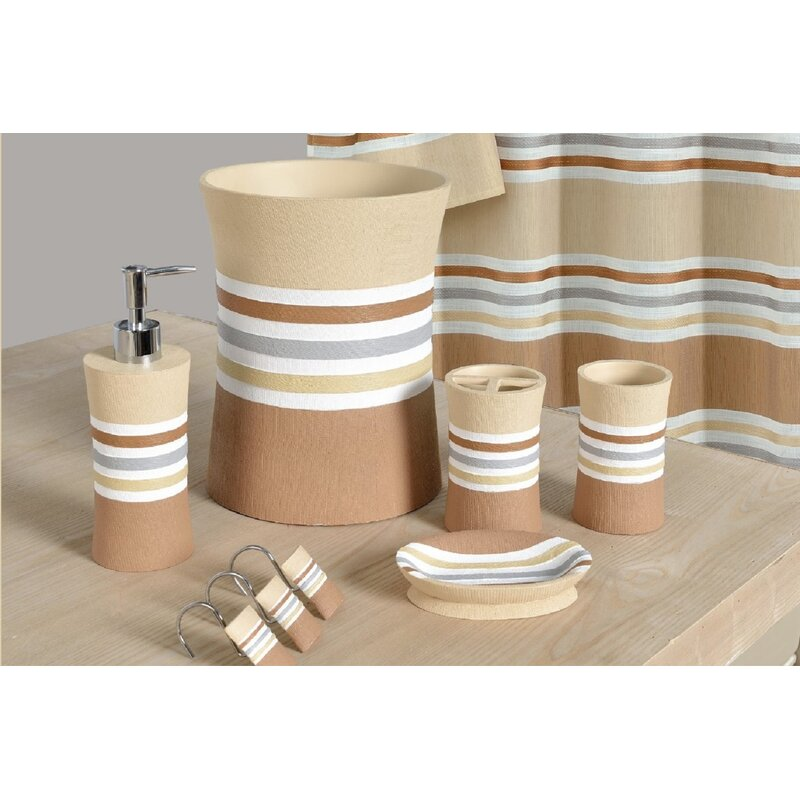 Winston Porter Asherton Decorative 5 Pieces Bathroom ...