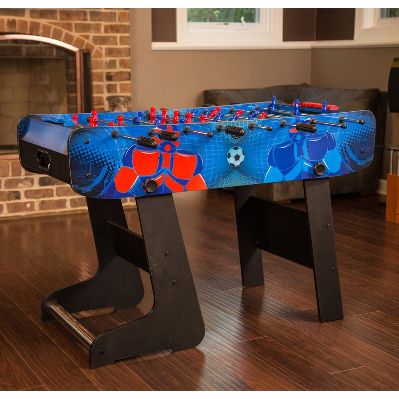 Exceptional Gladiator Folding Foosball Table
