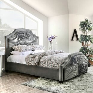 Carina Upholstered Platform Bed
