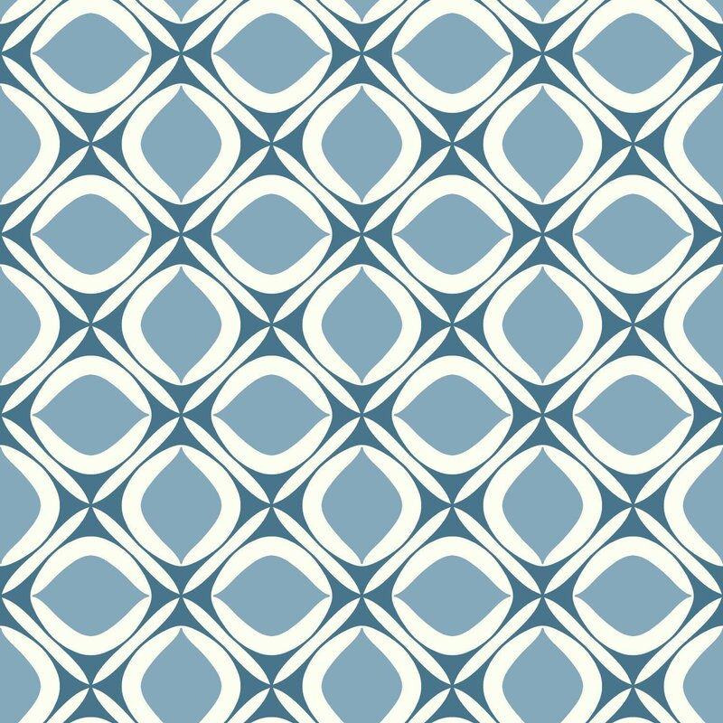 10 Best Mid-century Modern Wallpaper Ideas / Retro Wallpaper / Pattern Play Foxy Wallpaper
