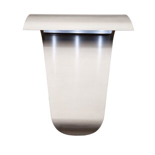 Eaglin 1-Light Outdoor Flush Mount By Orren Ellis