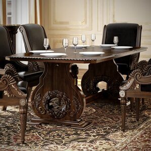 Chirk 9 Piece Dining Set by Astoria Grand