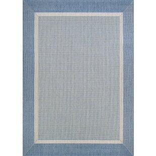 Linden Texture Blue/Gray Indoor Area Rug