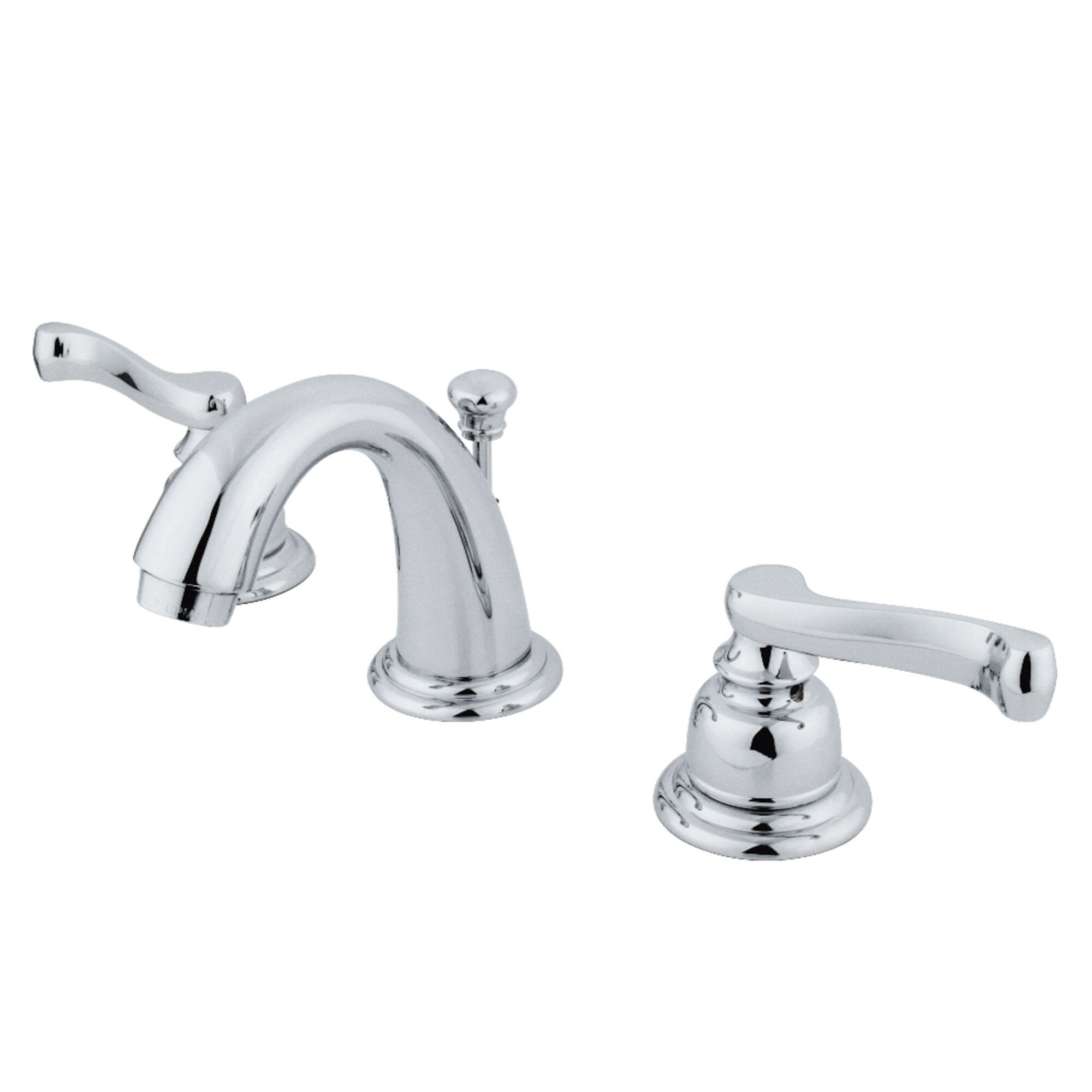 Kingston Brass Royale Widespread Bathroom Faucet With Drain Assembly Reviews Wayfair