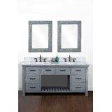 Bales 72 Double Bathroom Vanity Set by Gracie Oaks