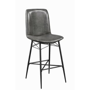 17 Stories Elle 29.5 Bar Stool (Set of 2)