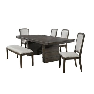 Seaver 6 Piece Extendable Dining Set