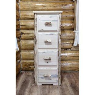 Abordale 4 Drawers File Cabinet by Loon Peak