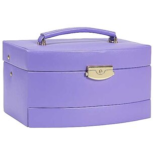 Online Reviews Bold and Spring Ladies Large Travel Case By Budd Leather