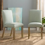 Jamila Parsons Upholstered Dining Chair by Rosecliff Heights
