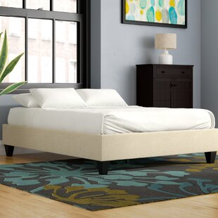 Best Crowell Upholstered Platform Bed ByEbern Designs