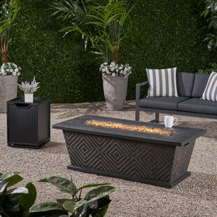 Patricia Cancrete Propane Fire Pit Table