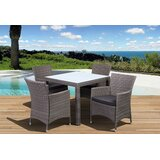 Finola 5 Piece Dining Set with Cushions