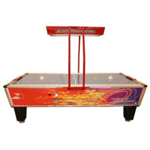 Flare Home Elite 8.3 Air Hockey Table with Full Overhead Light