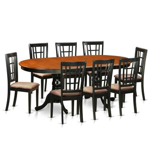 Plainville 9 Piece Dining Set by East West Furniture