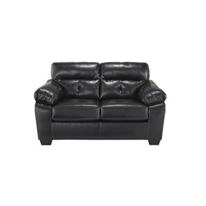 Mississippi Leather Loveseat by Red Barrel Studio