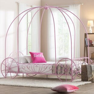 Brandy Twin Canopy Bed
