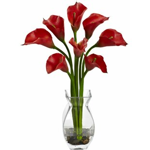 Classic Calla Lily Arrangement with Vase