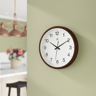 Review Onika 14  Wall Clock by Red Barrel Studio