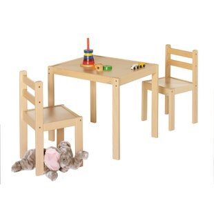 Kalle Children's 3 Piece Table And Chair Set by Geuther