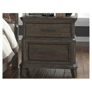 Grigg 2 Drawer Nightstand by Gracie Oaks