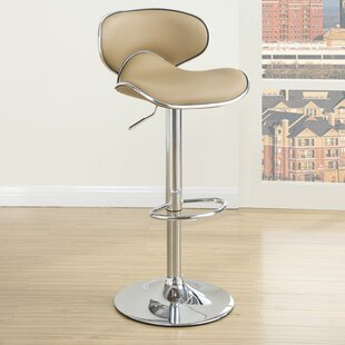 Adjustable Height Swivel Bar Stool (Set of 2)