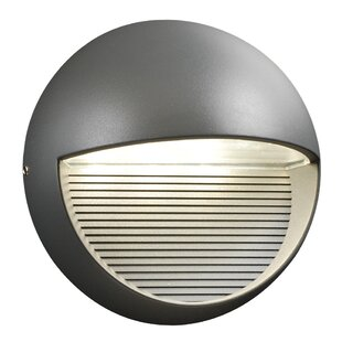 Reviews Thames 3-Light Outdoor Flush Mount By Ebern Designs