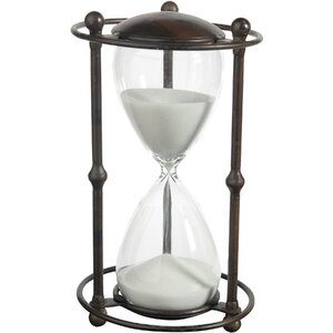 Traditional Hourglass in Stand