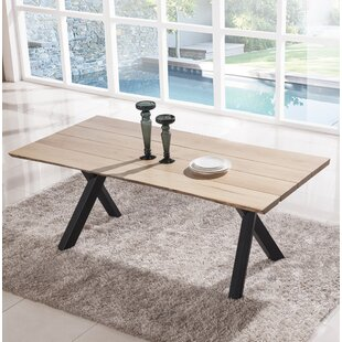 Greaney Live Edge Dining Table by Williston Forge Cool