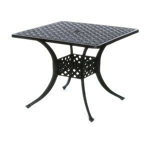 Check Prices Nickolas Aluminum Dining Table Look & reviews