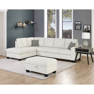 Beauman Reversible Sectional with Ottoman