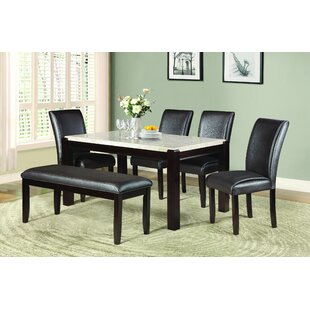 Wobnar 6 Piece Dining Set