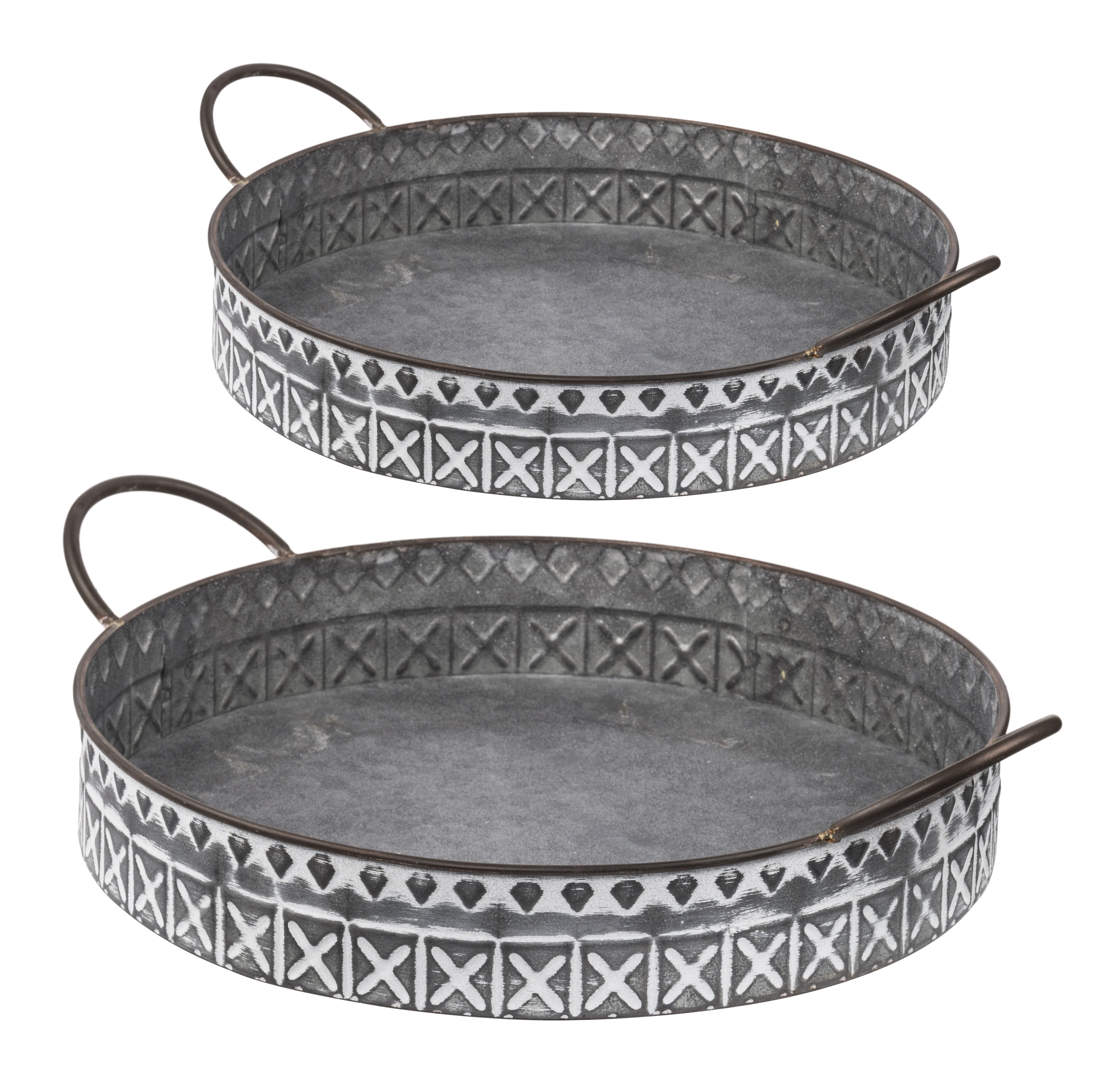 Thach Round Serving Tray Joss Main