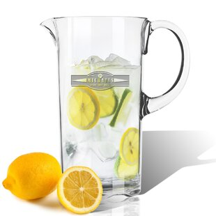 Personalized Tritan Sports Food Drink 55 oz. Pitcher