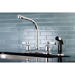 Paris Hot U0026 Cold Water Dispenser Double Handle Kitchen Faucet With Side  Spray