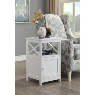 Stoneford End Table with Storage