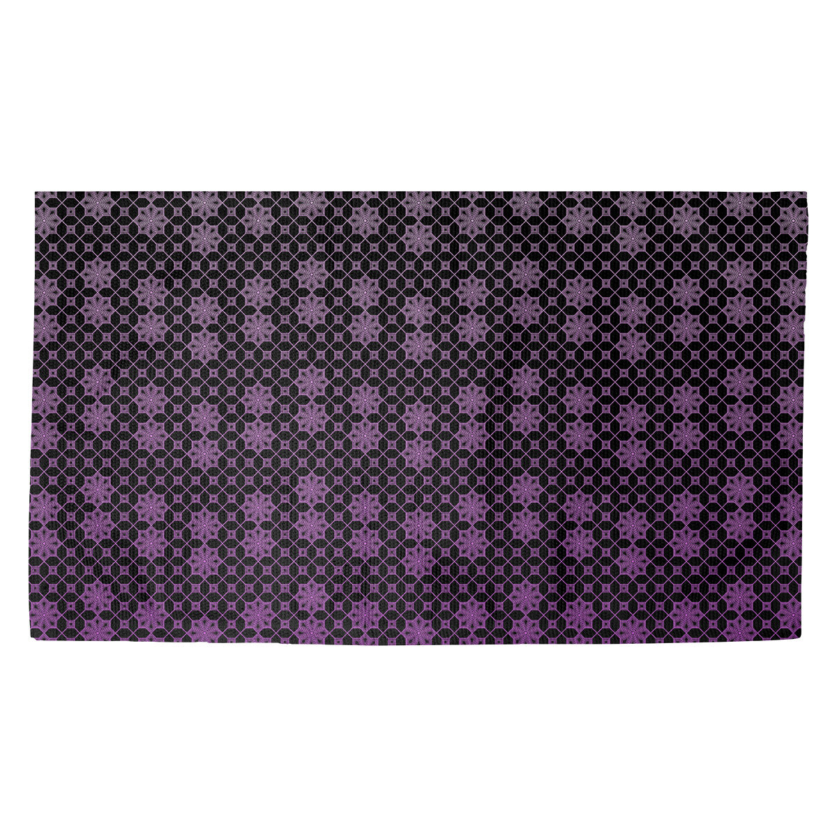 Latitude Run Avicia Lattice Purple Black Area Rug Wayfair