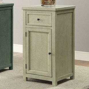 Halle Transitional End Table with Storage by Alcott Hill