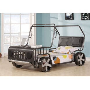 Price comparison Germaine Twin Car Bed by Zoomie Kids Reviews (2019) & Buyer's Guide