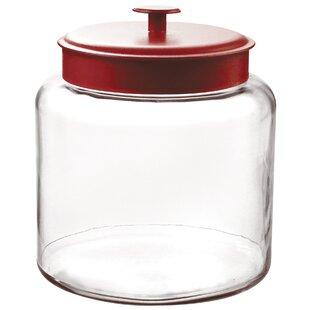 glass storage jars with lids wayfair