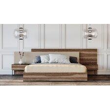Diller Italian Upholstered Platform Bed by Brayden Studio