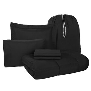 Rob 6 Piece Twin XL Bed-In-A-Bag Set