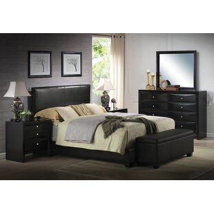 Griner Upholstered Panel Bed